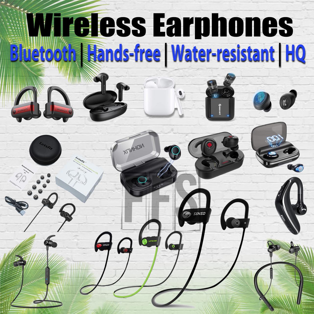 Wireless Earphones Earbud Bluetooth In-Ear lot Charger iPhon