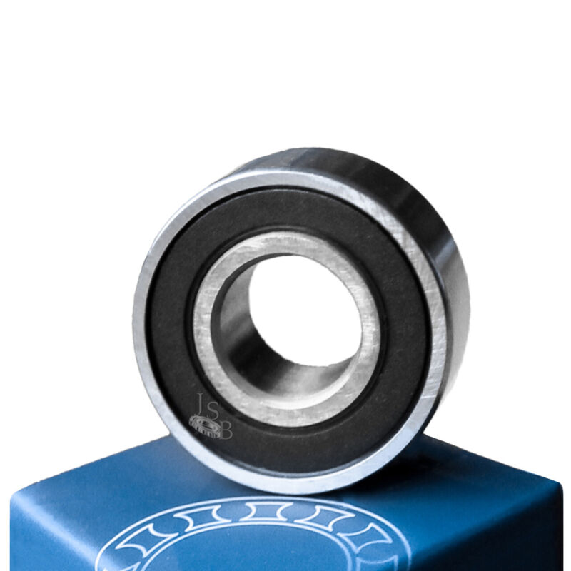 (Qty. 2) 6204-2RS High Quality Two Side Sealed Ball Bearings 20x47x14 6204RS