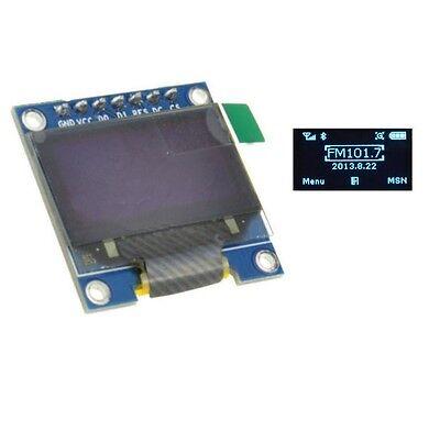 1pcs Blue 3-5v 0.96 Spi Serial 128x64 Oled Lcd Led Display Module For Arduino M