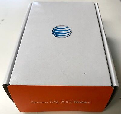NEW boxed Samsung Galaxy Note 4 SM-N910A AT&T UNLOCKED 4G 32GB Smartphone Shadow