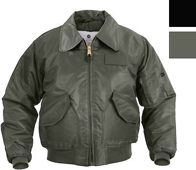 Air Force Flight Jacket Military CWU-45P Tactical Flyers Pilot Coat -