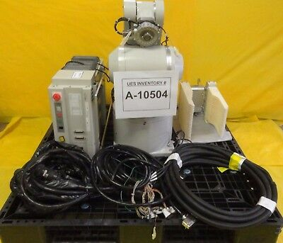 Mitsubishi Rv-e14nhc-sa Industrial Wafer Robot Cr-e356-s06 Used Working