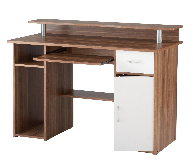 Solid Wood Computer Desk   eBay