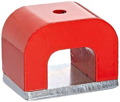 Aomag 30 Lbs Red Cast Horseshoe Heavy-duty Alnico Power Magnets For Education