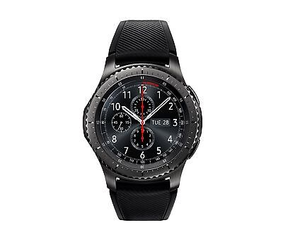 Samsung Gear S3 Bounds Smart Watch w/ Touchscreen, Dust/Not function Resistant, Black
