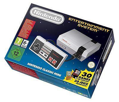 Nintendo NES Classic Mini EU Console + NES Mini Controller - Free Priority Ship
