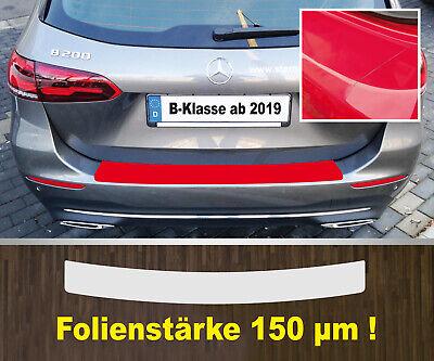 Lackschutzfolie Ladekantenschutz transparent Mercedes B-Klasse ab 2019  150 µm