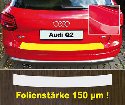 Ladekantenschutz Lackschutzfolie transparent  Audi Q2 ab 2016   150 µm