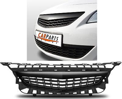 Kühlergrill Sport Grill ohne Emblem schwarz für Opel Astra J 09-12