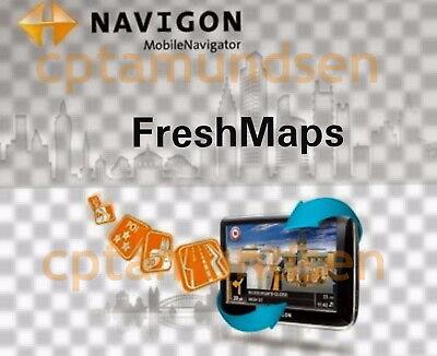 Navigon Karten Update Q1 2018 EUROPA mit Türkei + Russland Blitzer 09/2018