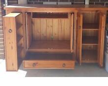 TV unit cabinet shelf shelves - Oregon Timber Melton South Melton Area Preview
