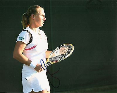 Svetlana Kuznetsova Russia Tennis 8X10 Photo Signed Auto W Coa