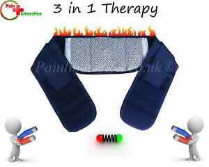 Magnetic-waist-belt-brace-with-HEAT-for-lower-back-pain-relief