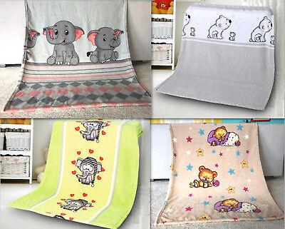 Coral Kinder Baby Decke Fleecedecke Krabbeldecke 75x100 cm Schmusedecke Kuschel online kaufen