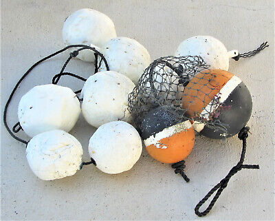 """PINK Commercial Grade Crab Pot /& Trap Buoys Float EIGHT Pack 5/"""" x 11/"""" Bullet"""