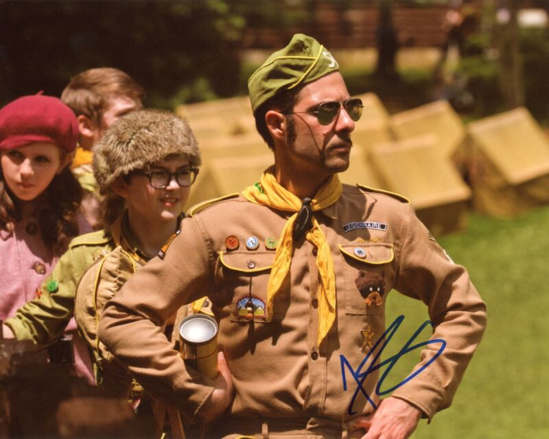 "Jason Schwartzman ""Moonrise Kingdom"" AUTOGRAPH Signed 8x10 Photo"