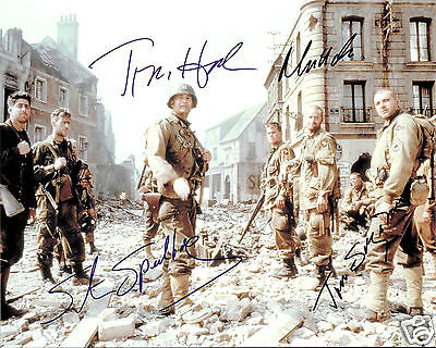SAVING PRIVATE RYAN CAST AUTOGRAPH SIGNED PP PHOTO POSTER
