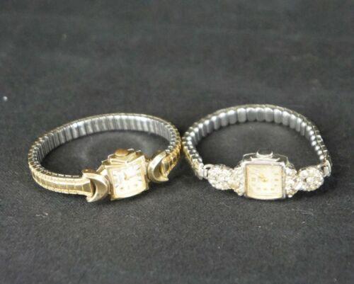 2 Antique LADIES WATCHES 1 Working Marden, 1 Not Working Lucerne 17 Jewels