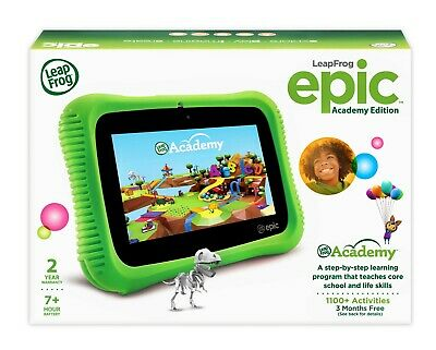 SEALED  LeapFrog Epic Academy Edition Learning Tablet – Green
