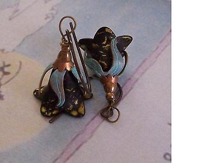 Enchanted Wizard Hat Earrings  Yarrows Garden