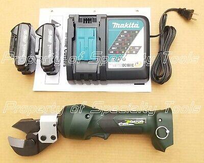 Greenlee Gator Es20lx Battery Hydraulic Acsr Guy Wire Steel Cutter Cutting Es20l