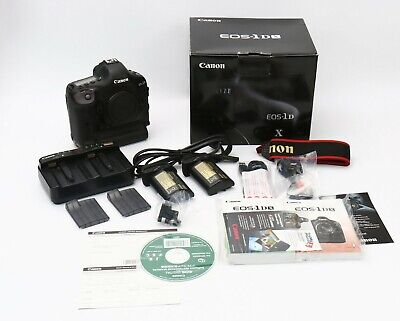 Canon EOS 1DX 1D X 18.1MP Digital SLR Camera - new shutter