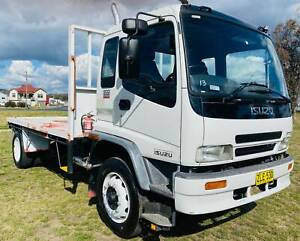 Isuzu FTR900 4x2 Traytop/Tabletop Truck.  Ex Govt. 5th Wheeler Inverell Inverell Area Preview