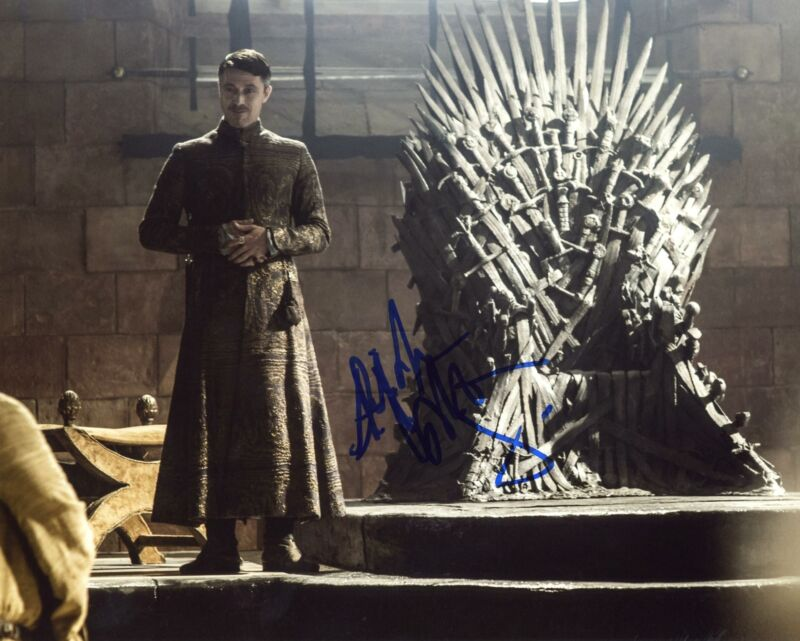 "Aidan Gillen ""Game of Thrones"" AUTOGRAPH Signed 8x10 Photo G ACOA"