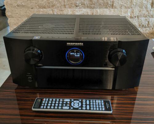 Marantz SR7005 7.2 AV Surround Receiver Airplay 3D Remote & Calibr Mic Bundle