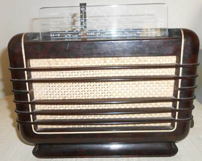 PHILIPS BAKERLITE 112A 1948 AUSTRALIA EX CONDITION