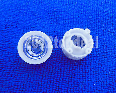 100pcs 45degree Led Lens For 1w 3w High Power Led With Screw 20mm White Holder
