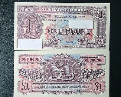 £1 British AF Note 2nd Series UNC