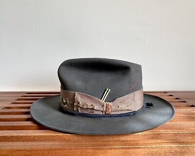 Nick Fouquet Custom Hat - Size 7 3/8 - Excellent Condition
