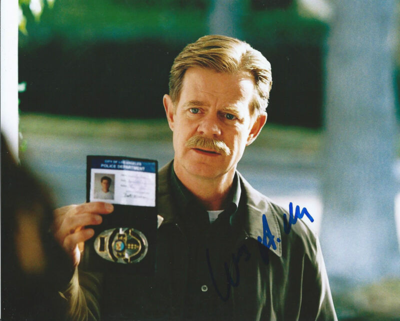 **GFA Shameless TV Star *WILLIAM H MACY* Signed 8x10 Photo MH1 COA**