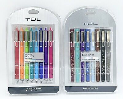 Tul Limited Edition Pens Assorted Barrels And Inks 16 Pens Total