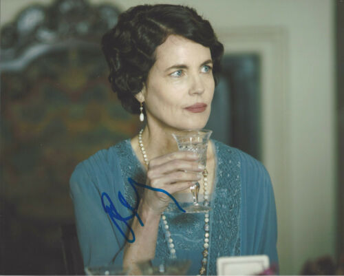 ELIZABETH MCGOVERN SIGNED AUTHENTIC 'DOWNTON ABBEY' 8X10 PHOTO w/COA ACTRESS