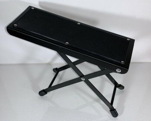Folding Guitar Footstool Foot Rest Anti-Slip Stand Height Adjustable Footboard