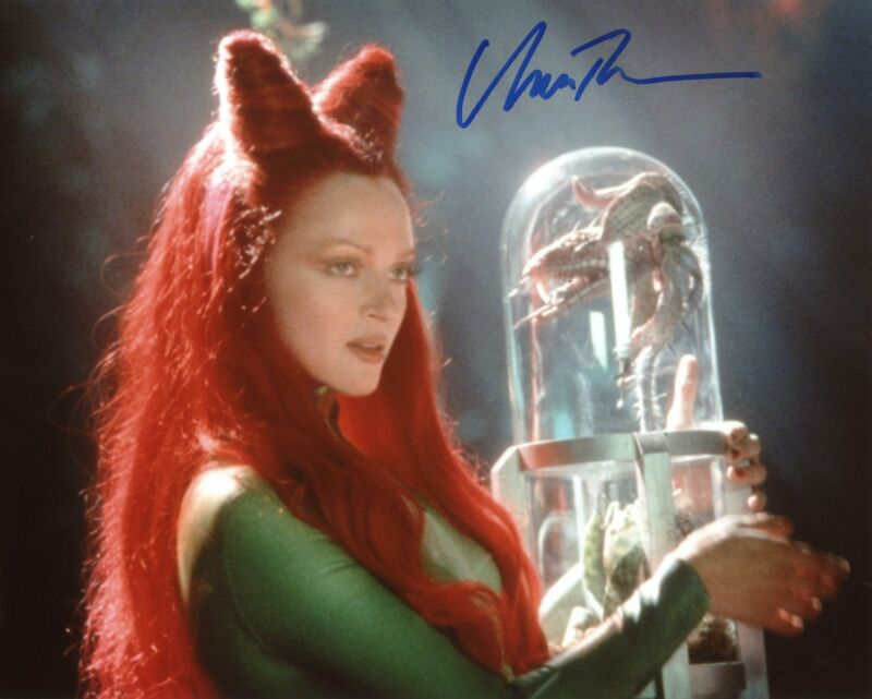 "Uma Thurman ""Batman & Robin"" AUTOGRAPH Signed 8x10 Photo C ACOA"
