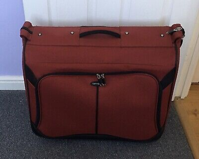 Samsonite Luggage Carry-On Wheeled Garment Bag, Red- RRP £150