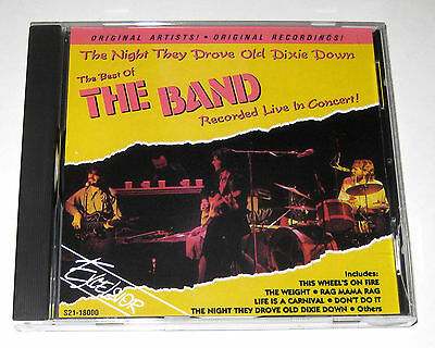CD: The Best Of The Band - Recorded Live In Concert! Night They Drove Old