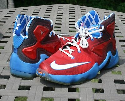 low priced 421c8 60ce5 NIKE LEBRON XIII (GS) Youth Basketball Sneakers SZ 5.5 Preowned