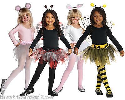 Leotard & Tutu Kit child pageant costume toddler ladybug mouse bunny bee - Tutu Kits