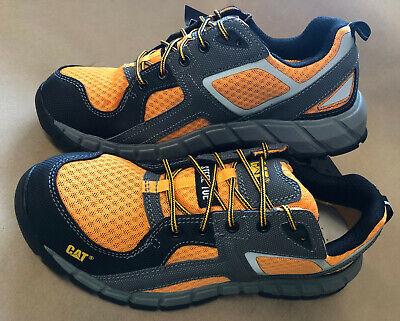 Caterpillar Gain St Steel Toe Steel Toe Work Shoes Mens 8.5 9 9.5 10 10.5 11 12 Caterpillar Steel Toe Shoes