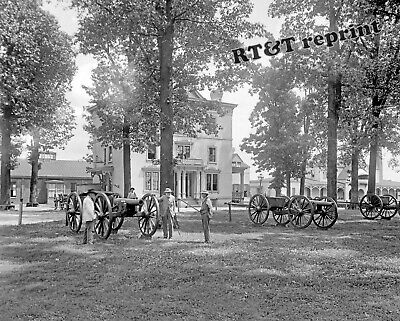 Richmond Va Civil War - Photograph Civil War R.E.Lee Confederate Soldiers Home Richmond Va. Year 1908