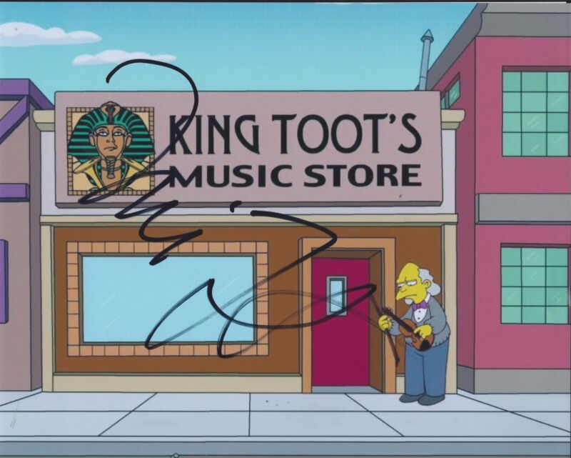 Will Forte Signed Autographed 8x10 Photo King Toot The Simpsons Guest Star A