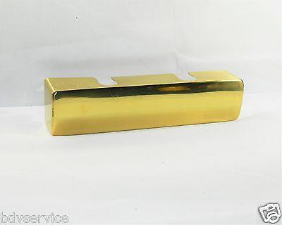 4500 Abdeckung (Geze Abdeckkappe TS 4500/5500 Messingfarben poliert rund für Türschliesser  )