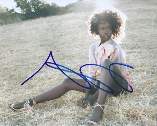 ANNA DIOP  Signed Autographed 8x10 Photo Greenleaf The Messengers 24: Legacy