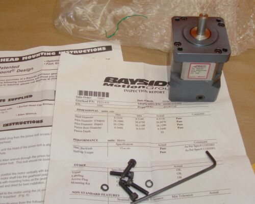 NEW Bayside Parker PX23-010 Precision Planetary Gearhead Gear Head PX23010