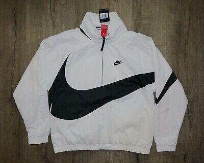 Nike Big Swoosh Anorak Half Zip Jacket AJ1404-121 sz M DEFECTIVE