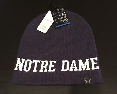 Reversible Notre Dame Fighting Irish Under Armour UA Performance Beanie Knit Hat Reversible Beanie Damen